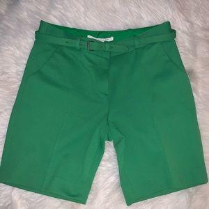 Diane von furstenberg belted pant shorts
